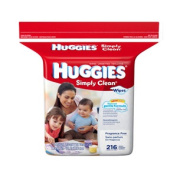 Huggies Simply Clean Fragrance Free Baby Wipes. [ Sold by the Each, Quantity per Each : 1 EA, Category : Wet Wipes, Product Class : Wet Wipes ]