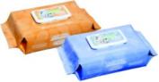 Baby Wipe Nice 'N Clean 8 X 8-3/4 X 23cm - 1.9cm Soft Pack Aloe