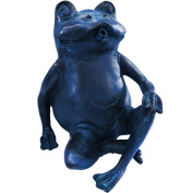 B#ubbink Pond Spitter Ornament Spits Water Feature Statue Frog 20.5 Cm 1386073