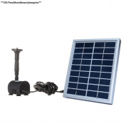 Anself Small Type Landscape Pool Garden Fountains 9v 2w Solar Power...