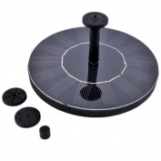 Solar Bird Bath Fountain Pump,ruipye 1.4w Solar Panel Kit Water Pump, Outdoor