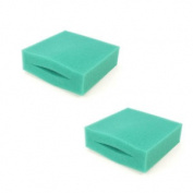 Twin Pack Oase Biotec Replacement Filter Foam 5.1/10.1 Green Fine Sponge Pond