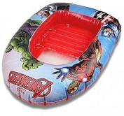 Marvel Avengers Inflatable Dinghy Beach Boat Float Swimming Pool Lounger Toy
