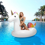 Unicorn Inflatable, Tongwin Floats Pool Toy For Adults & Kids