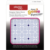 Nappy Genie Expressions Blue Tile Designer Fabric Sleeve