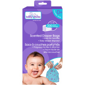 Scented Nappy Bags Value Pack, 1200-Count