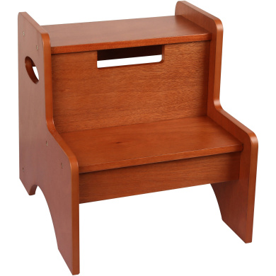 Levels of Discovery Maple Finish 2-Step Stool