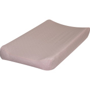 Go Mama Go Designs Pink & Cream Polka Dot Cotton Changing Pad Cover