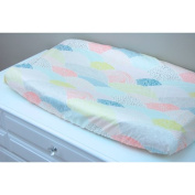 Little Moose by Liza Summit Dawn Changing Pad Cover