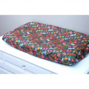 Little Moose by Liza Budquette Nightfall Changing Pad Cover