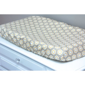 Little Moose by Liza Hexa Honeycomb Changing Pad Cover