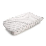 Harriet Bee Franklin Mini Dots Contoured Changing Pad Cover