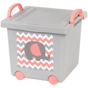 Baby Toy Storage Box, Tan