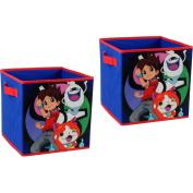 Yo Kai Collapsible Storage Cubes, Set of 2