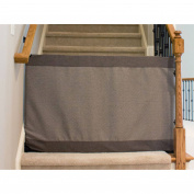 The Stair Barrier Bannister to Wall Gate, Modern Grey