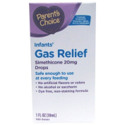 Parent's Choice Infants' Gas Relief Simethicone Drops, 20mg, 30ml