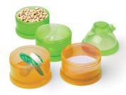 Mommys Helper Pak N Stak Formula Dispenser, Orange/Green