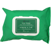 Celkin Tea Tree Make-Up Remover Cleansing Wipes, 60 sheets
