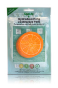 My Spa Life Hydro Soothing Cooling Eye Pads, Orange, 6 Ct