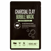 Soo Ae Charcoal Clay Bubble Mask, 10ml
