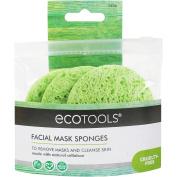 EcoTools Facial Mask Sponges, 3CT