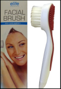 Elite Essentials Facial Brush & Massager Cleans & Exfoliates All Skin Types