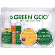 Green Goo Skin Care Travel Pack, 5 pc