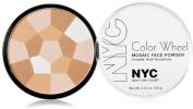 New York Colour Wheel Mosaic Face Powder, Translucent Highlighter Glow [722] 10ml