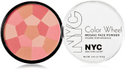 New York Colour Colour Wheel Mosaic Face Powder, Pink Cheek Glow 10ml