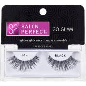 Salon Perfect Perfectly Glamorous False Lashes, 614 Black
