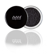 Avani Dead Sea Cosmetics Eye Shadow Shimmering Powder, SP20 Midnight Black, 5ml