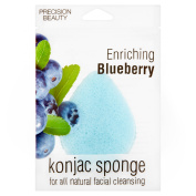Precision Beauty Enriching Blueberry Konjac Sponge