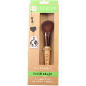 The BLVD All Natural Bamboo Blush Brush