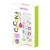Coconut Nail Art by Incoco Nail Polish Strips, Treat Yourself