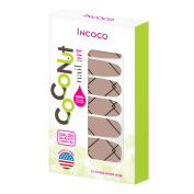 Coconut Nail Art by Incoco Nail Polish Strips, Less Is More