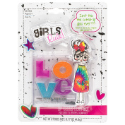 Girls Rule Lip Gloss, Love, 5ml