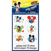 Disney Mickey Roadster Colour Tattoo Sheets, 4ct