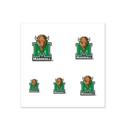 Marshall Thundering Herd Fingernail Tattoos - 4 Pack