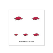Arkansas Razorbacks Fingernail Tattoos - 4 Pack