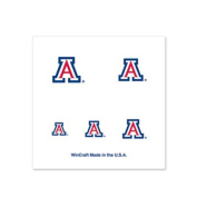 Arizona Wildcats Fingernail Tattoos - 4 Pack