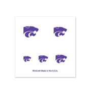 Kansas State Wildcats Fingernail Tattoos - 4 Pack