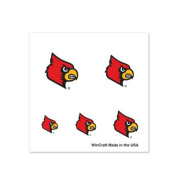 Louisville Cardinals Fingernail Tattoos - 4 Pack