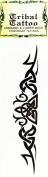Temporary Tattoo Armband & Lower Back Tribal Tattoo