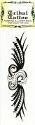 Temporary Dragon Tattoo Armband & Lower Back Tribal Tattoo