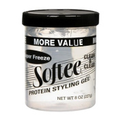 Softee Super Freeze Protein Styling Gel 240ml