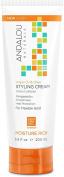 Andalou Naturals Smooth Hold Styling Cream, Argan & Sweet Orange 200ml