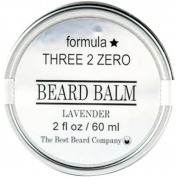 The Best Beard Company Formula Three 2 Zero Lavender Beard Balm, 60ml