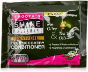 Smooth 'N Shine Olive & Tea Tree Revive Oil Deep Recovery Conditioner, 50ml