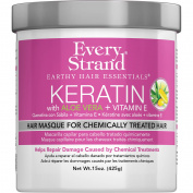 Every Strand Keratin with Aloe + Vitamin E Hair Masque for Chemically Treated Hair, 440ml