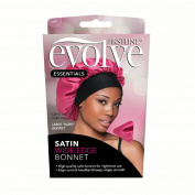 Firstline Evolve Satin Wide Edge Bonnet, Fuchsia